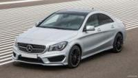 Mercedes Benz CLA (or similar)